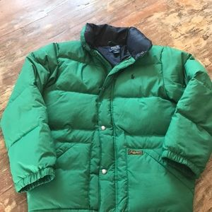 Youth Boys Ralph Lauren puffer coat